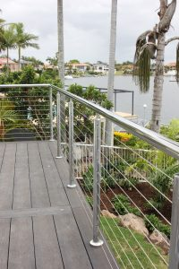 wire and post balustrade copy