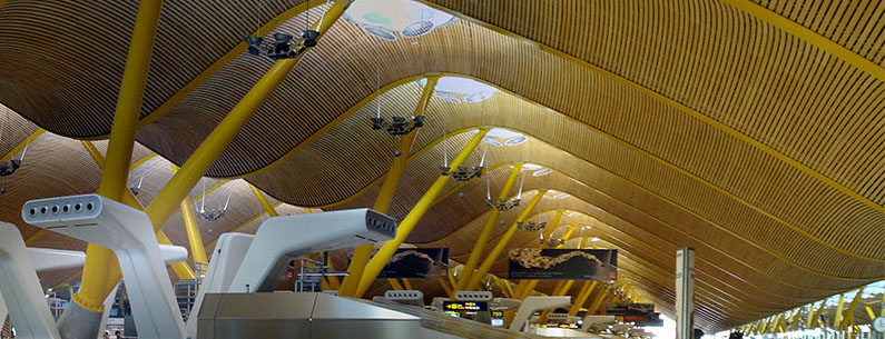 tensile airport structure