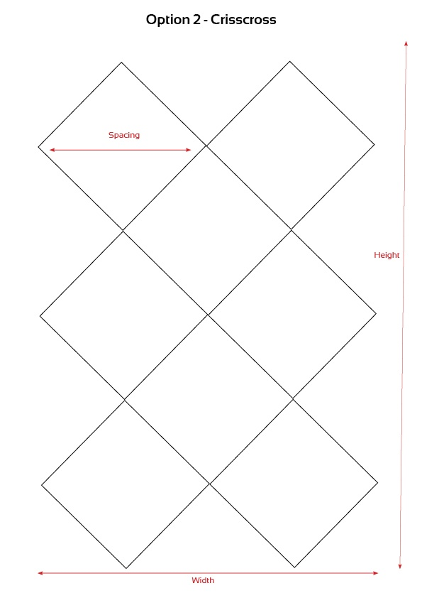 Garden Trellis Option Templates3