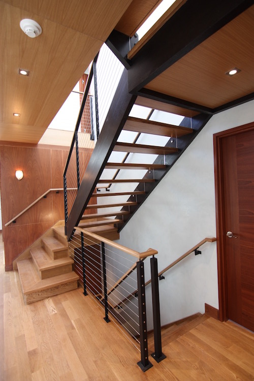 atrium balustrade staircase